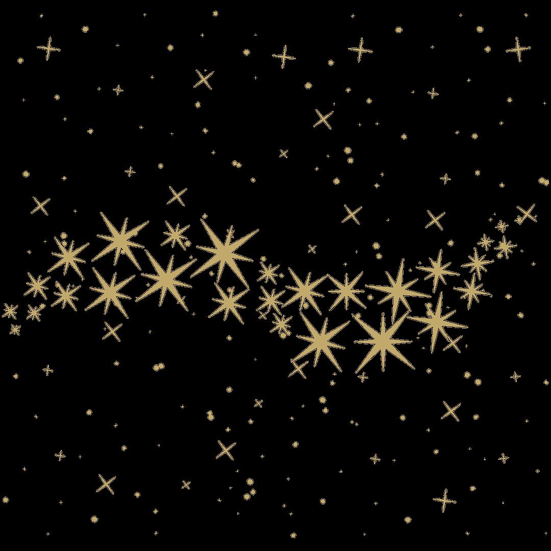 Gold stars psychic medium